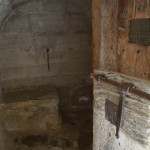 Interior de l'antiga presó d'Almatret