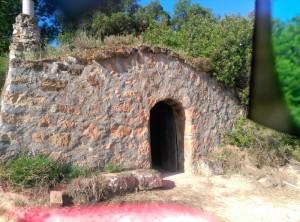 Cabana de volta restaurada