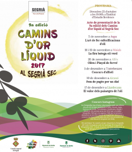 Anunci Camins or Líquid 2017