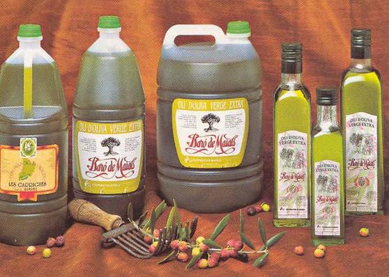 Oli d'oliva verge extra Baró de Maials